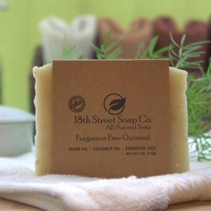 Fragrance Free Oatmeal Soap