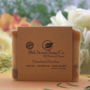 Grandma's Garden Soap