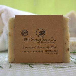 Lavender Chamomile Mint Soap