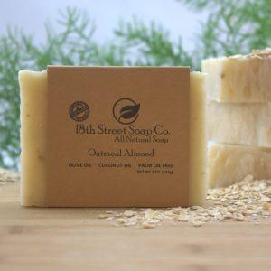 Oatmeal Almond Soap