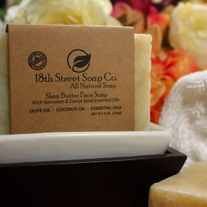 Shea Butter Face Bar