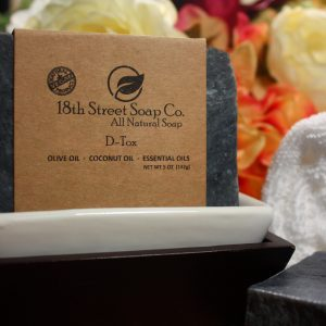 D-Tox Activated Charcoal Soap