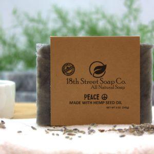 Peace Hemp Oil Soap
