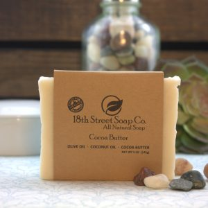 Cocoa Butter Fragrance Free Soap