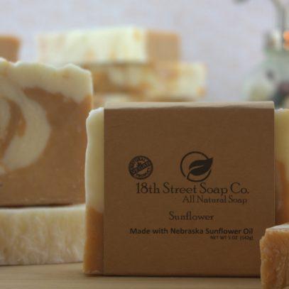 Nebraska Sunflower Soap