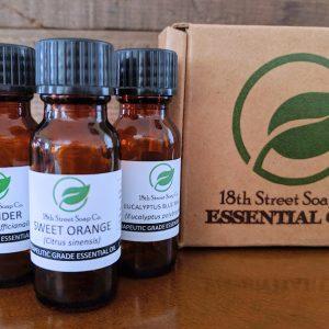 Essential Oil Starter Pack Lavender, Sweet Orange, Eucalyptus